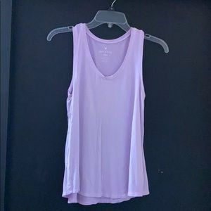 American Eagle Soft and Sexy lavender tank top